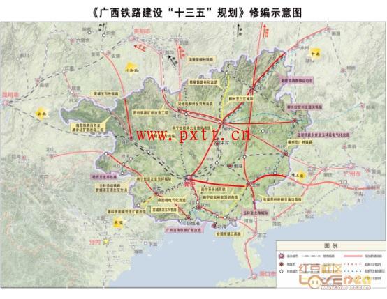 广西审议通过广西铁路建设十三五规划修编