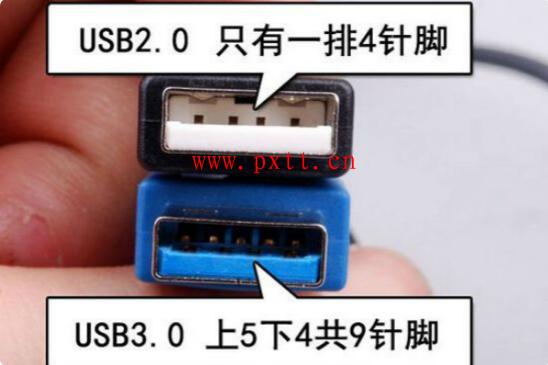 usb3.0和2.0两者有何区别?怎么区分usb3.0和2.0?